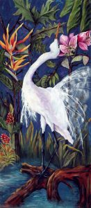 Egret In Paradise - AVAILABLE