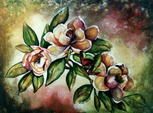 Antique Magnolias - Sold
