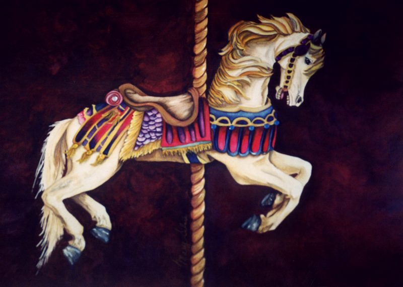 Bejeweled Carousel - Sold