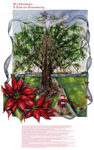 Christmas Under The Oaks Poster
