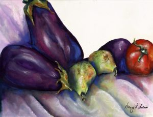 Eggplant and Friends! - Sold