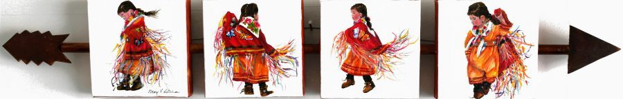 Fancy Shawl Dance - Sold