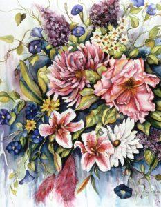 Floral Bouquet - Sold
