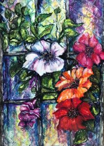 Outside My Stained Glass Window-AVAILABLE