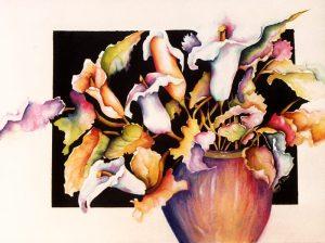 Rainbow Callas - Sold